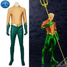 MANLUYUNXIAO Новый Для мужчин Аквамен костюм Артур Карри Орин Косплэй костюм костюмы на Хэллоуин для Для мужчин индивидуальный заказ