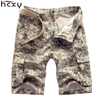 HCXY Fashion Summer Style Casual Mens Shorts Camouflage Cargo Shorts Men Cotton Work Army Beauty Shorts