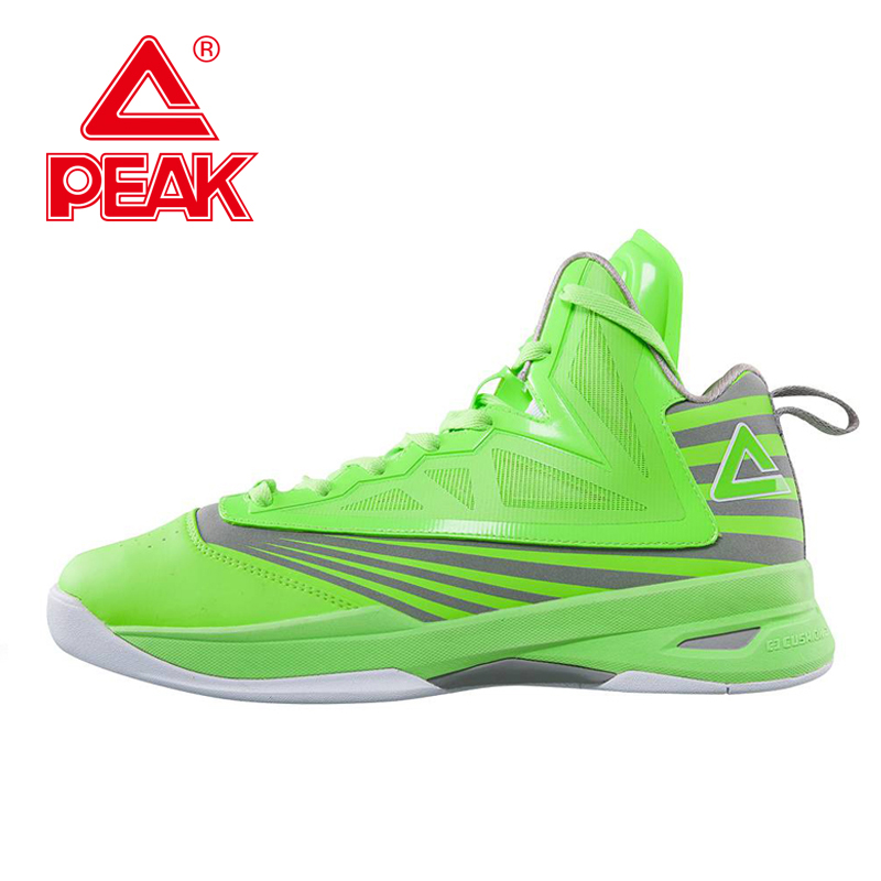 PEAK SPORT Speed Eagle VI Men Basketball Shoes Cushion-3 REVOLVE Tech Sneakers Breathable Athletic Training Boots Size EUR 40-50 peak sport lightning ii men authent basketball shoes competitions athletic boots foothold cushion 3 tech sneakers eur 40 50