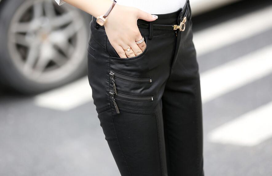 Cintura Caliente Ropa Moda Cultivar Mostrar 2019 Nueva La Pantalones Moralidad Pie Delgado Alta Apretado Delgada Lápiz De Negro Mujeres Fuera Primavera PxzXgPqr