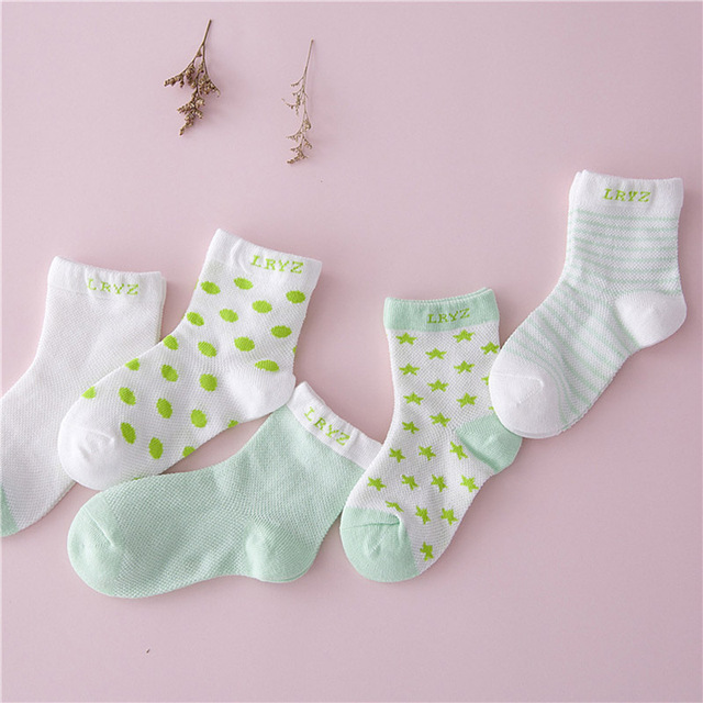 Cute Cotton Socks Set