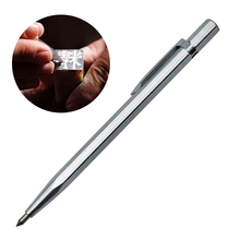 1PC Diamond Metal Engraving Pen Tungsten Carbide Tip Scriber Pen for Glass Ceramic Metal Wood Carving Hand Tool(China)