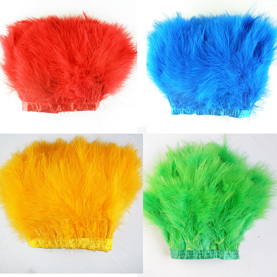 Free shipping Colors radomly 2pcs /lot 2yards long Colourful turkey Feather Boa marabou feather boas For Fancy Dress Party Boas