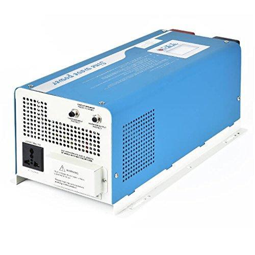 Tumo-Int 4000W Digital Intelligent DC 48V to AC 220V Pure Sine Wave Inverter Charger