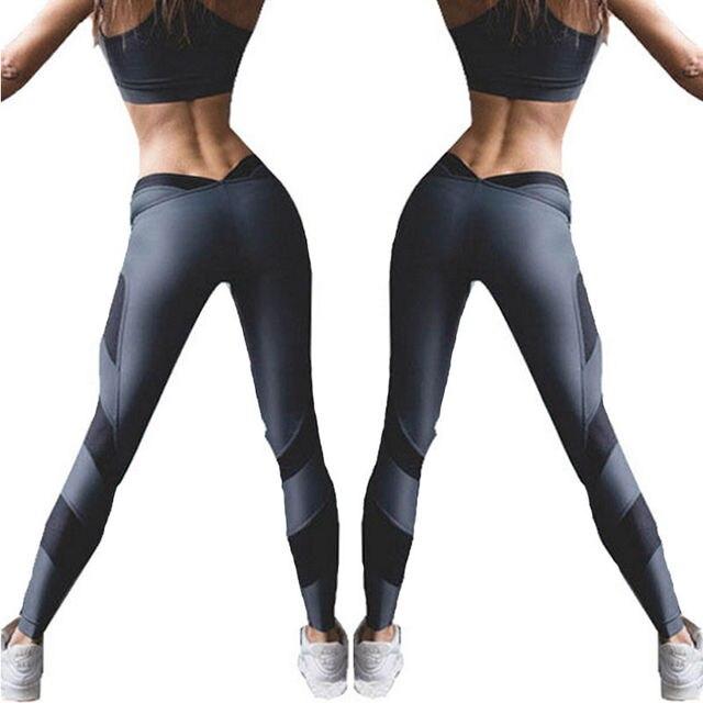 c450a8da1828 2017 новые Брендовые женские штаны для йоги женские леггинсы для фитнеса  работает тренажерный зал спортивные брюки