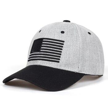 84cd31052b6c9 2018 nuevas estrellas y rayas bordado genial factura plana gorra de béisbol  Mens Gorras Snapbacks 3D bandera sombrero al aire libre Hip Hop del  casquillo ...