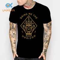 Sheffield Metal Rock Band T Shirt Bring Me The Horizon High Quality Printed T Shirt Hip