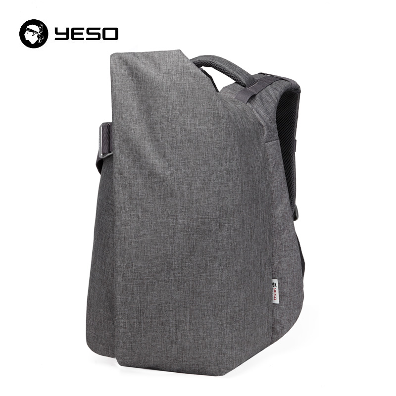 YESO_high quality laptop backpack_irregular shape backpack
