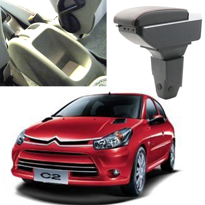 Car armrest box central Store box with USB for citroen c2 peugeot 206 207 2003 2004 2005 2006 2007 2008 2009 yatour car digital music cd changer aux mp3 sd usb adapter 17pin connector for bmw motorrad k1200lt r1200lt 1997 2004 radios