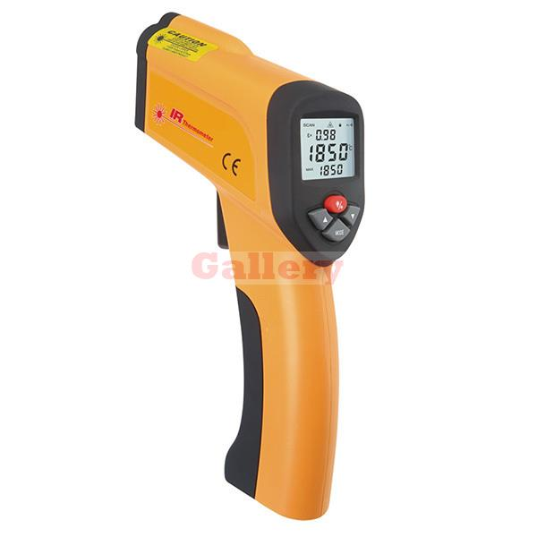 Xintest Ht-6889 Non Contact High Temperature 50 To 1600 Degree Centigrade Backlight Lcd Instruments Infrared Thermometer