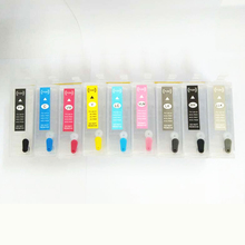 R3000 Refillable Ink Cartridge For Epson stylus R3000 Printer T1571 T1572 T1573 T1574 T1575 T1576 T1577 T1578 T1579 With Chip