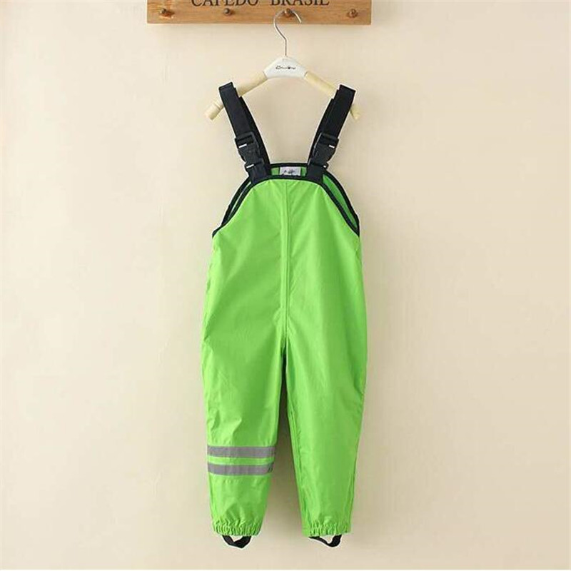 New 2017 Spring And Autumn Overall children boy girl clothing Kids Boy Overall,Baby Boy Girl Overall,Waterproof Rain Pants overall silvian heach overall