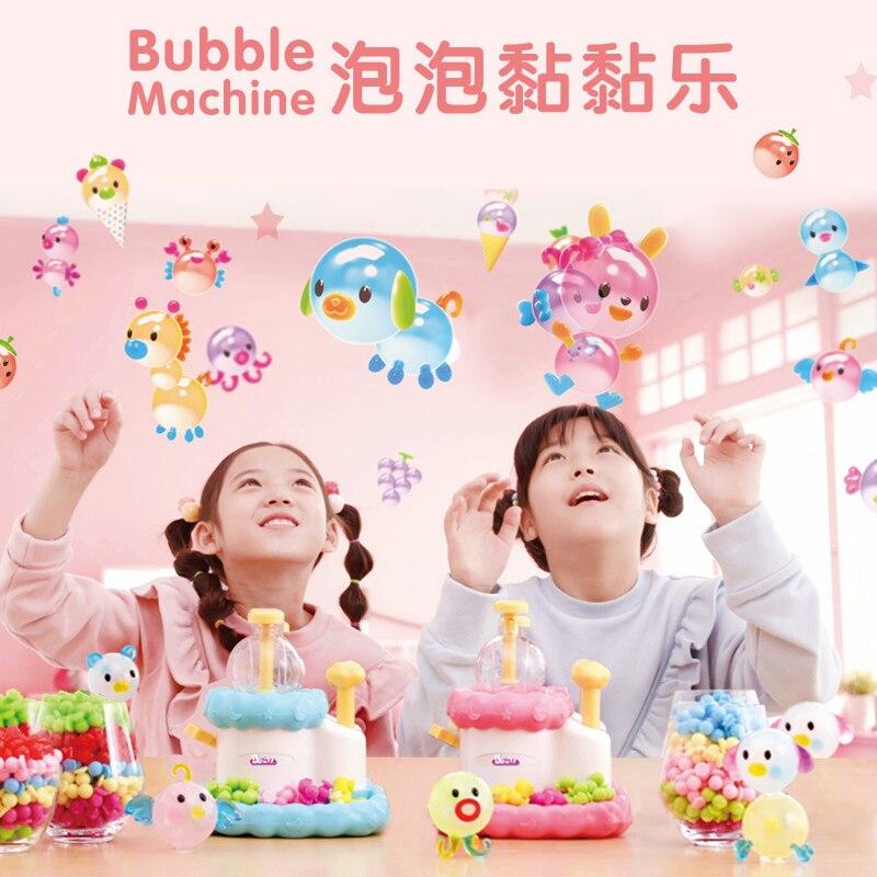 Magic adhesive children DIY handmade creative sticky ball girls toys for 5 years art and craft for children