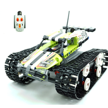 42065 397Pcs Technic Series The RC Track Remote-control Race Car Set Building Blocks Bricks Gifts Toys compatible Legoing 20033