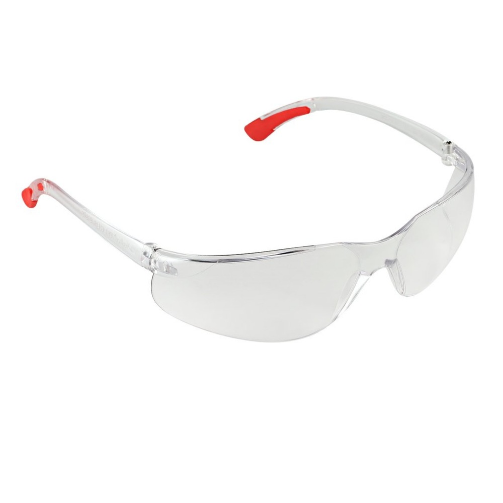 цена на 1 PCS Safety Glasses Lab Eye Protection Protective Eyewear Clear Lens Workplace Safety Goggles Supplies