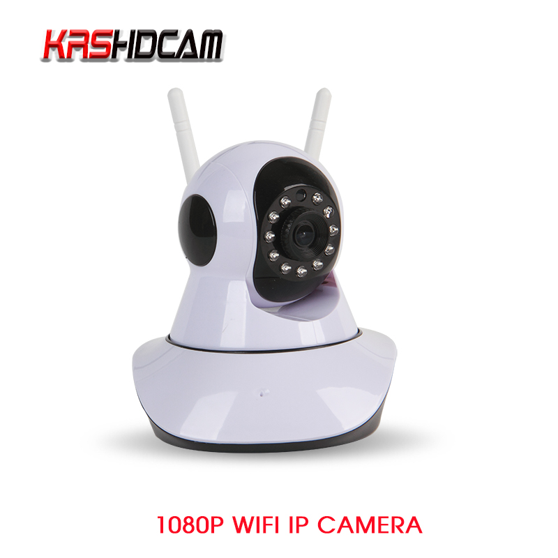 KRSHDCAM 1080P WIFI Camera Wireless Security CCTV IR-Cut Night Vision Audio Recording Surveillance Network Indoor Baby Monitor
