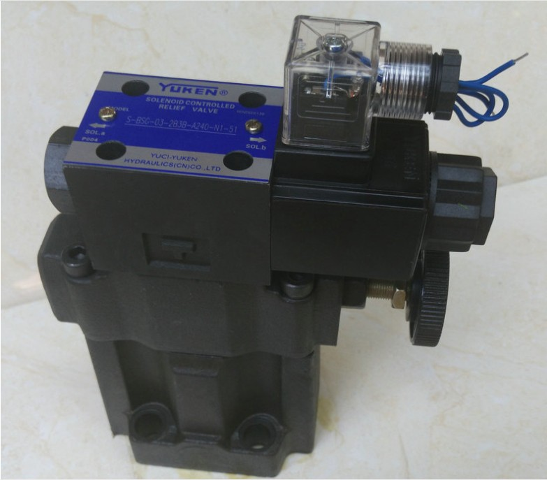 YUCI YUKEN overflow valve S-BSG-06-2B with low noise high pressure solenoid valveYUCI YUKEN overflow valve S-BSG-06-2B with low noise high pressure solenoid valve