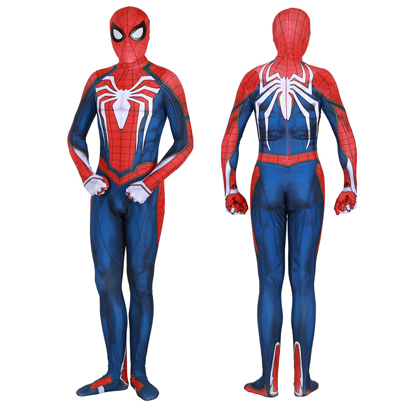 Insomniac Games Spiderman Cosplay Costume Zentai Spider Man Superhero Bodysuit Halloween Carnival Suit Jumpsuits