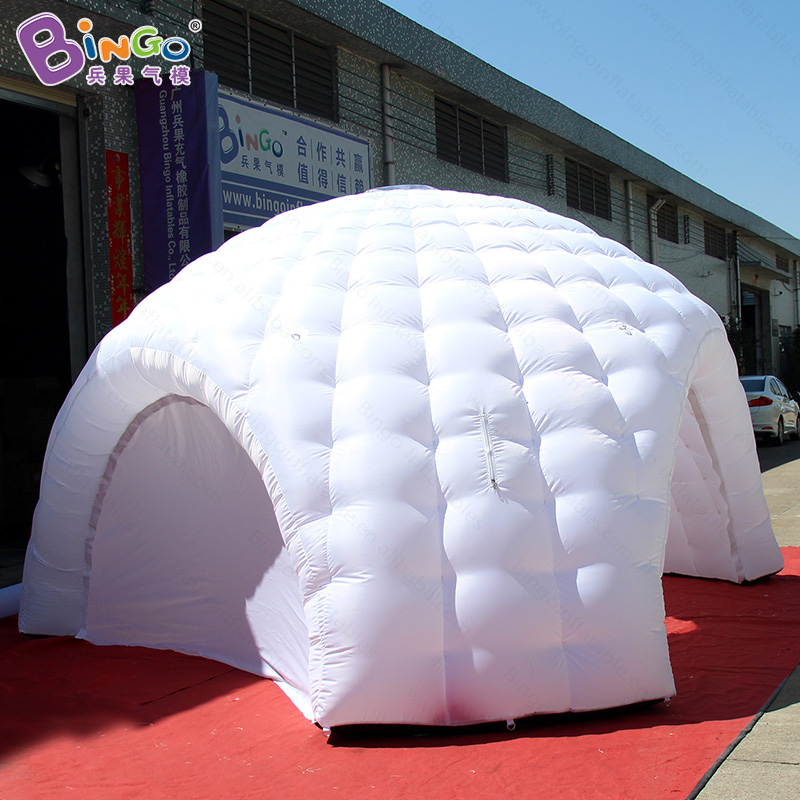 High quality 5X2.5 M white inflatable dome tent with three legs for wedding party inflatable igloo event tent canopy toy tents delta dl 5046 pink