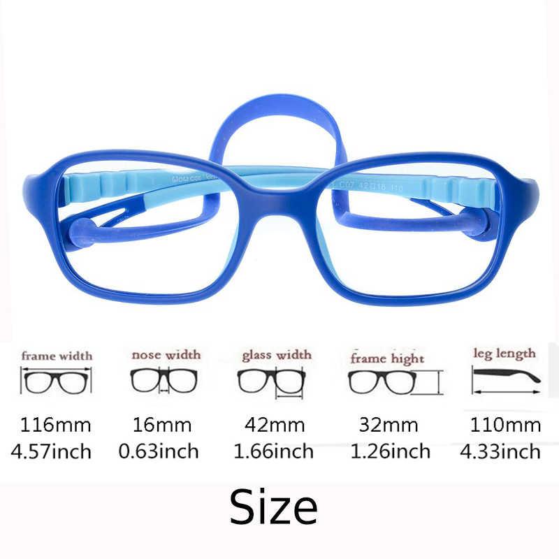 3d07aa332ba55 ... Kirka Flexible Kids Eyeglasses Frame TR90 Children Glasses Unbreakable  Safe Light Boys Girls Optical Glasses Frame
