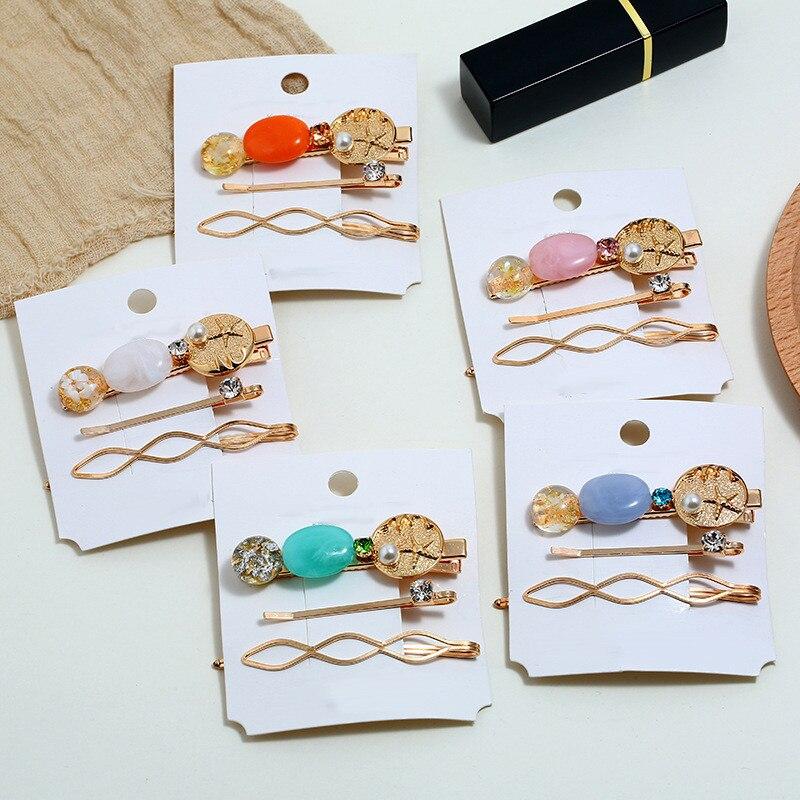 Comb Hair-Clip Jewelry Starfish-Shell Hair-Styling-Accessories Girls Fashion Women Beach
