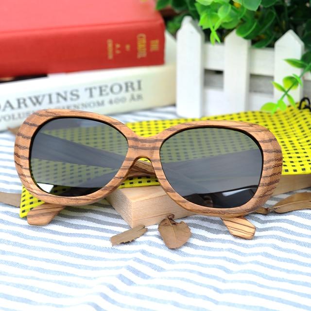 bc05523f8d150 BOBO Homens PÁSSARO de bambu De Madeira Óculos Polarizados Das Senhoras Óculos  de Sol Óculos Mulheres