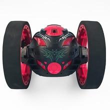 Nowe zabawki zdalnego sterowania dwa koła samochodu 2.4G częstotliwości samochód z elastycznym obracanie koła światła led zdalnego sterowania robotem