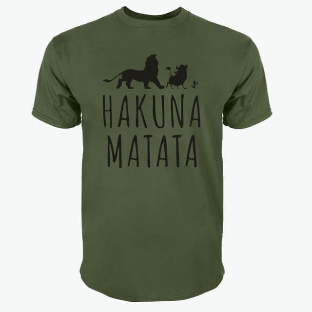HAKUNA MATATA T-SHIRT (10 COLORS)
