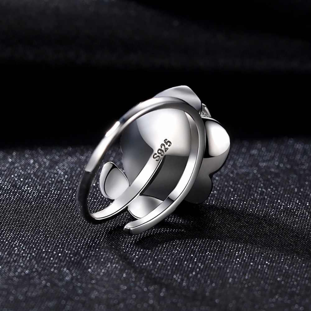 DR fleur forme 10-15 MM blanc perle d'eau douce anneau cadeau pour les femmes marque 925 en argent Sterling mariée bijoux de mariage anneaux
