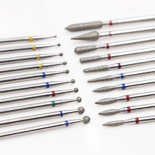 Diamond Cutters for Manicure Machine Nozzle Nail Drill Bit Cutter Pedicure Tools