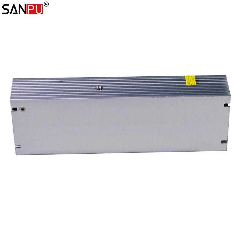 SANPU SMPS alimentation LED alimentation 24 v 300 w 12a tension constante commutation pilote 220 v ac à dc transformateur d'éclairage pas de ventilateur intérieur - 5