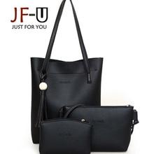 JF U 3 Bags Set Luxury Handbags Women Bags Designer Women Leather Handbags Bag Female Shoulder
