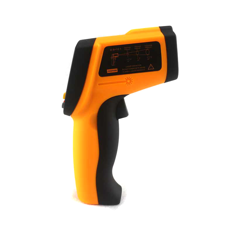 -50~900C -58~1652F Digital Pyrometer IR Infrared Thermometer Non-Contact Electronic Temperature Meter Point Gun GM900