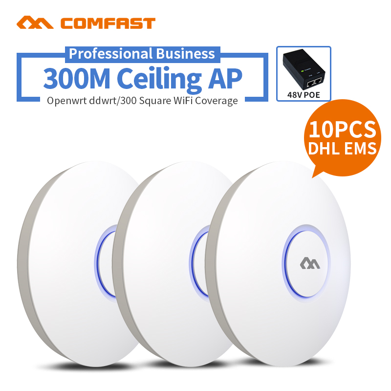 COMFAST Fi 300mbps Poe-Power Enterprice-Wifi AP Ceiling-Ap CF-E320V2 Indoor Wireless