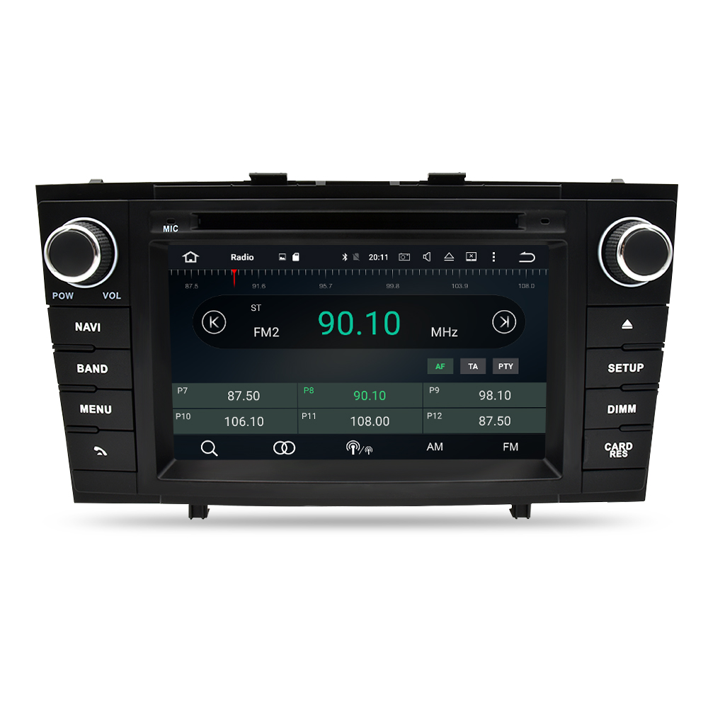 US $306 59 27% OFF|Android 9 0 Car Radio DVD GPS Navigation Multimedia  Player For Toyota Avensis T27 2009 2015 Auto Audio WIFI Stereo Headunit-in  Car
