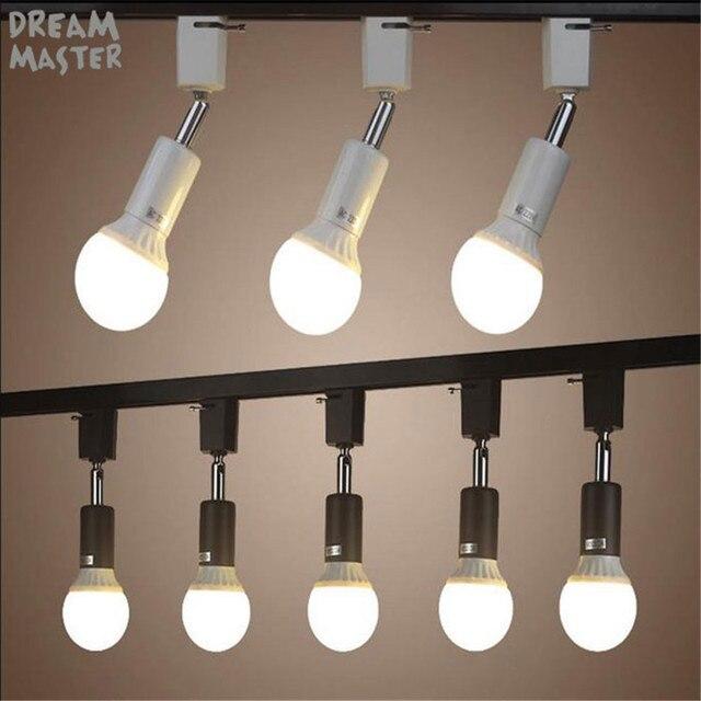 Beleuchtung Shop   Moderne E27 Halter Track Licht Lampe Gedreht Track Beleuchtung Fur