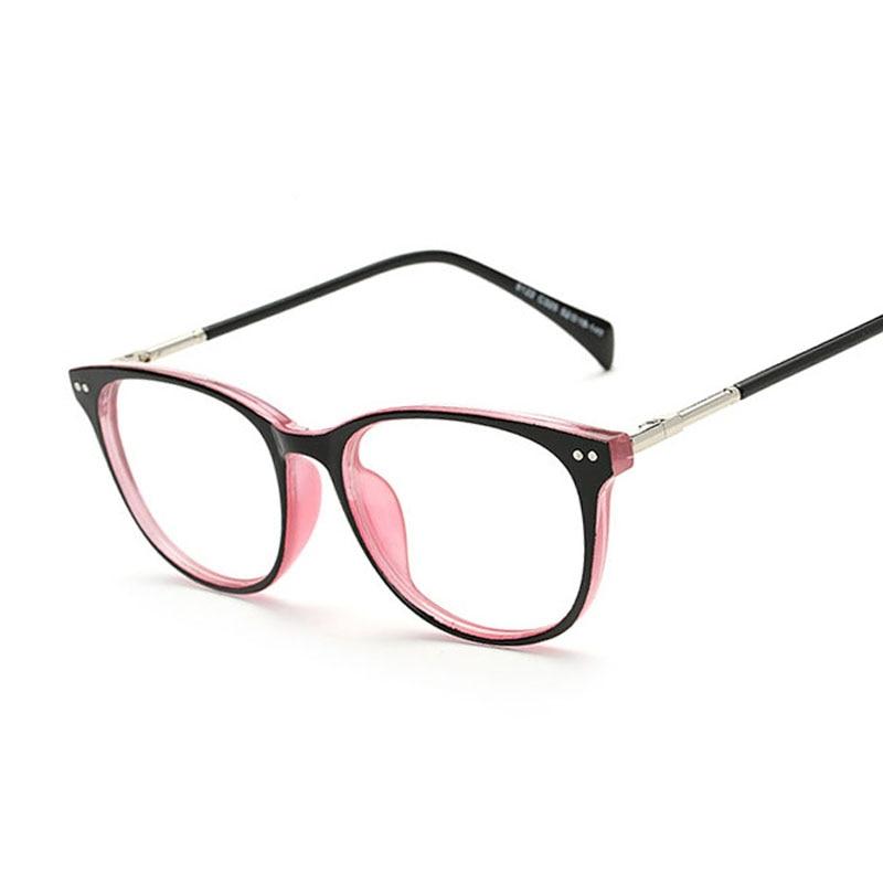 Retro Gafas de Moda Las gafas Redondas de Metal Brazo Ordenador ...