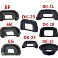 DK-19 DK-20 DK-21 DK-23 DK-24 EB EG EF DK-25 CE DK-5 TAMPA DA Ocular de Borracha Ocular Ocular para nikon canon SLR câmera
