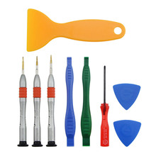 цена на UANME 9PCS/LOT Spudger Pry Opening Tool Screwdriver Set For Macbook Hand Tools Set Computer Repair Tools Kit