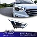 One-Stop Shopping Car Styling LED Headlights for Hyundai ix25 creta 2015-2017 led headlamp with Xenon Hid headlamp