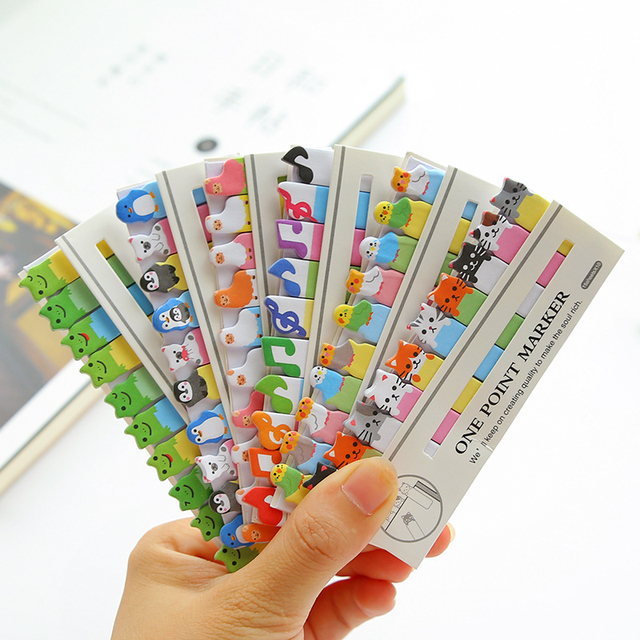 Kawaii Post It Scrapbooking Stickers