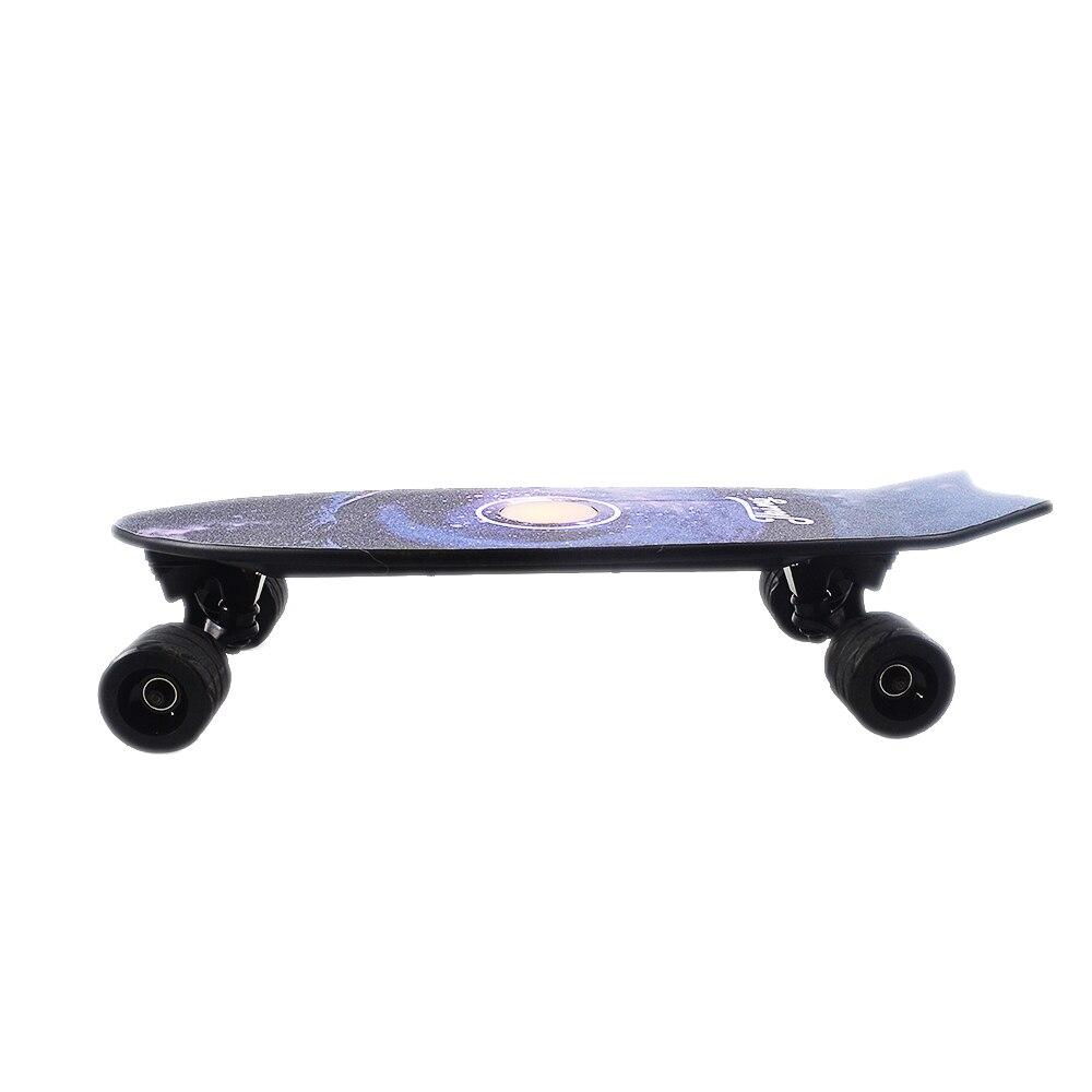 Quatre Roues Électrique Planche À Roulettes Avec Sans Fil À Distance Contrôleur E Planche À Roulettes Scooter Longboard Skate Board pour Adultes Enfants - 4