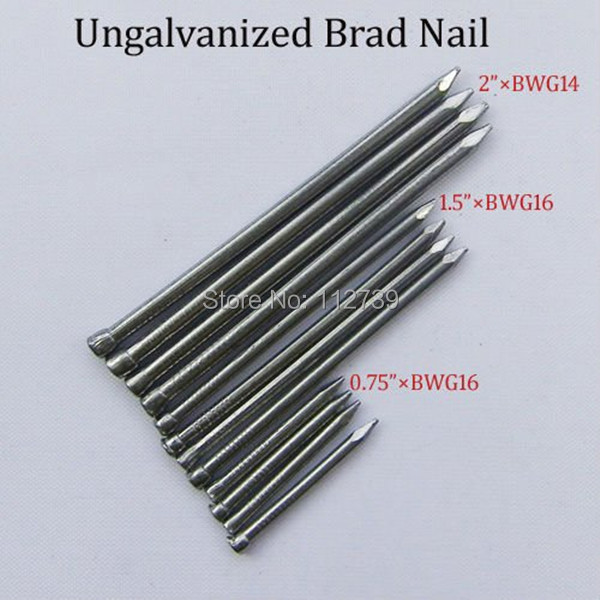 Ungalvanized Brad Nails ( Point Diamond )-in Nails from ...