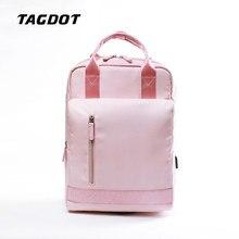 tagdot art Waterproof Shockproof Laptop Backpack 15.6 inch for Women 12 13 13.3 14 15 pink airbag Back pack Men