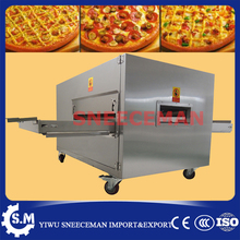 LPG pizza oven gas commercial pizza oven conveyor machine