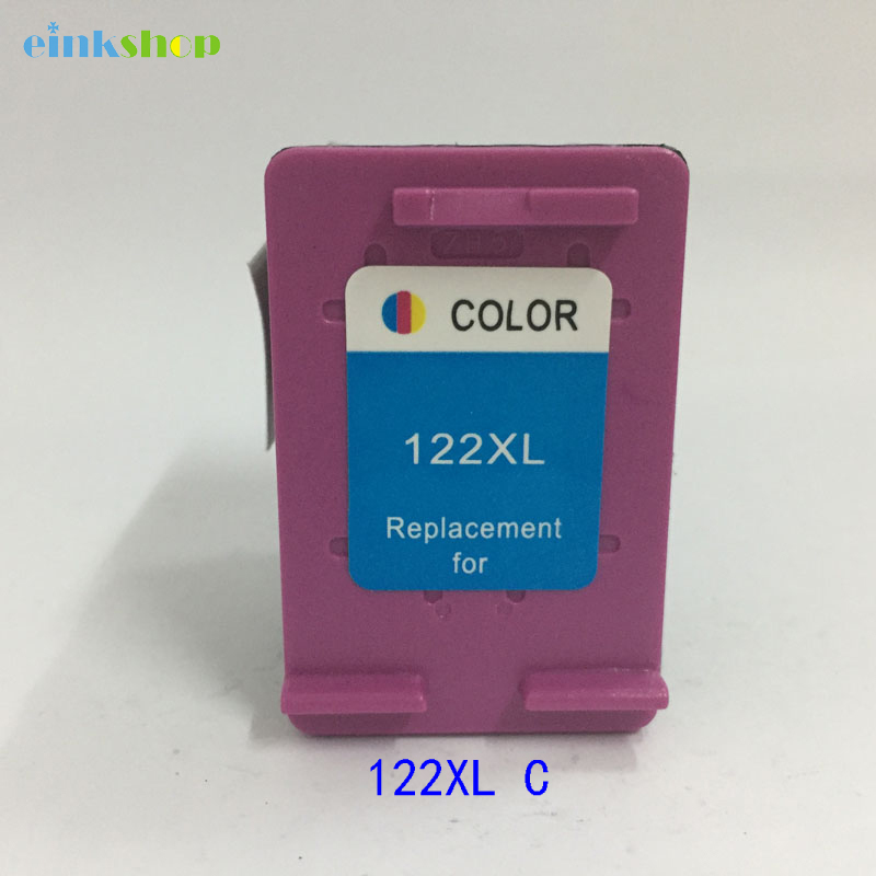 Einkshop Compatible ink Cartridge <font><b>122</b></font> replacement for <font><b>hp</b></font> <font><b>122</b></font> 122xl for Deskjet 1000 1050 1510 2000 2050 3000 3050A 3052A printer image