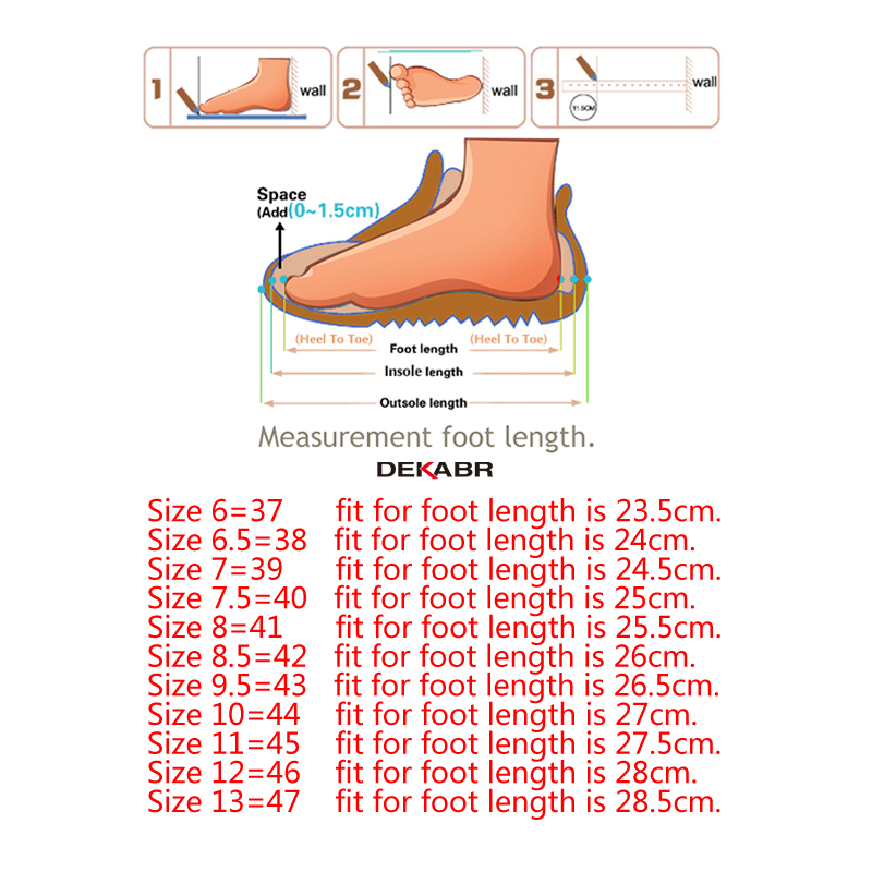 Image 5 - DEKABR Men Shoes Genuine leather Comfortable Men Casual Shoes Footwear Chaussures Flats Men Slip On Lazy Shoes Zapatos Hombre-in Men's Casual Shoes from Shoes