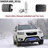 NoEnName_Null 100 Pcs 12mm Voiture SUV ATV Anti-Slip Vis Spin Prise De Roue Pneus Neige Pointes Garniture