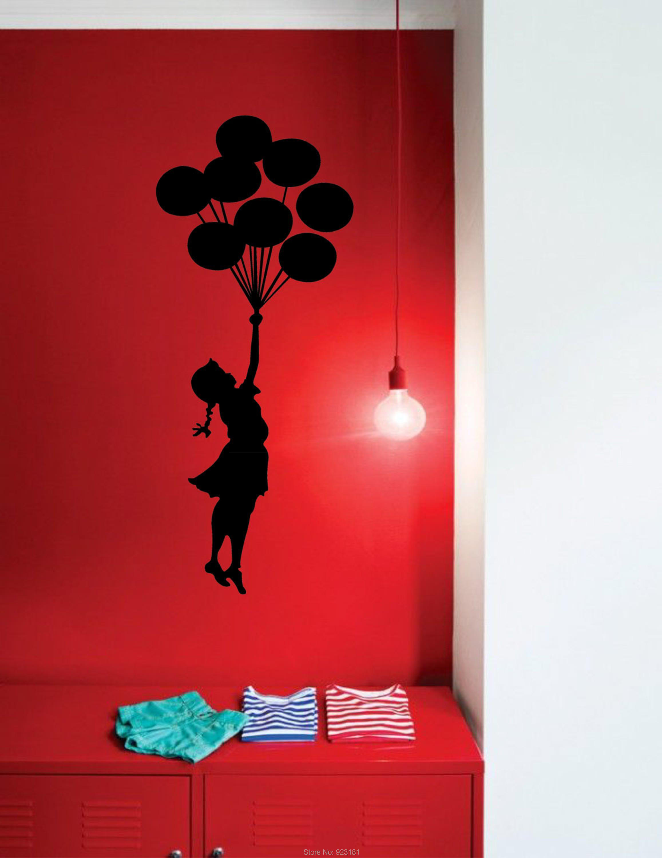 banksy bedroom wallpaper fujise us online buy wholesale banksy girl balloon from china banksy girl banksy bedroom
