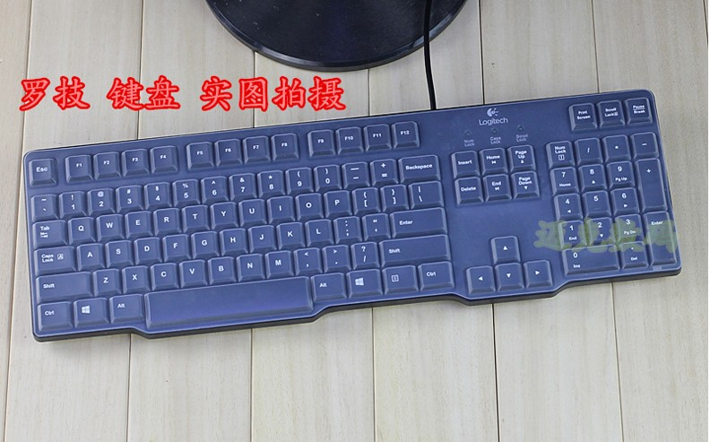 Waterproof dustproof Clear Transparent Silicone Keyboard Cover protector skin For Logitech MK100 K100 G100S